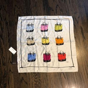 NWT Coach Andy Warhol Style Scarf Purse Design
